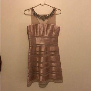 BcbgMaxazria Rose/Champagne dress